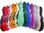 Tonareli Cello-Shaped Fiberglass Violin Case